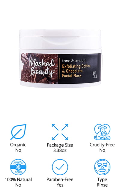 Masked Beauty Coffee Facial Mask