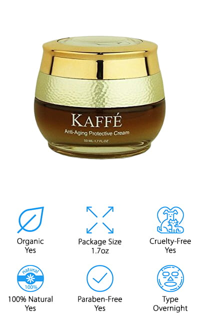 Kaffe Kona Coffee Mask