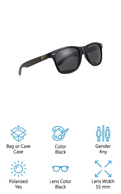 4EST Shades Bamboo Sunglasses