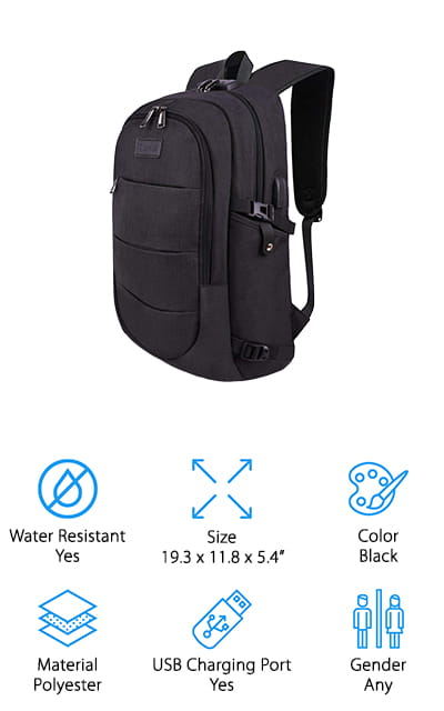Tzowla Business Laptop Backpack
