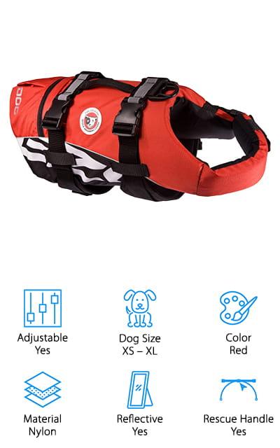 EzyDog Doggy Life Vest