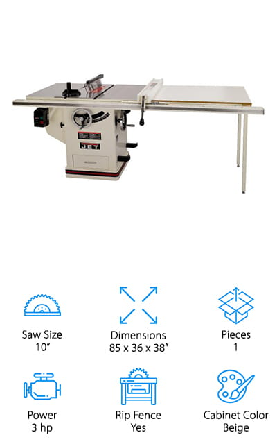 JET Deluxe Table Saw