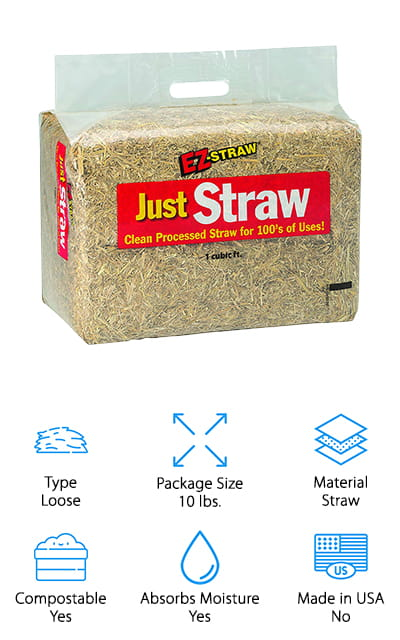 EZ-Straw Just Straw Bale