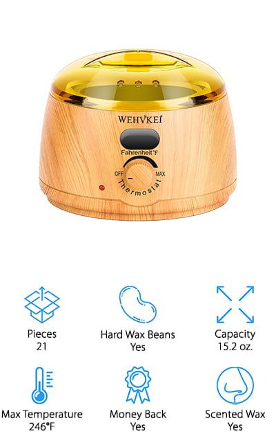 WEHVKEI Waxing Kit