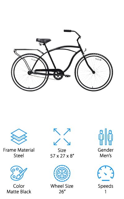Sixthreezero Men's Cruiser Bike