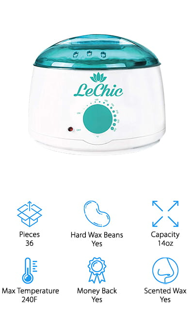 LeChic Wax Warmer Kit