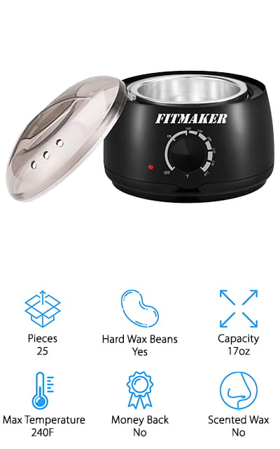 Fitmaker Wax Warmer Kit