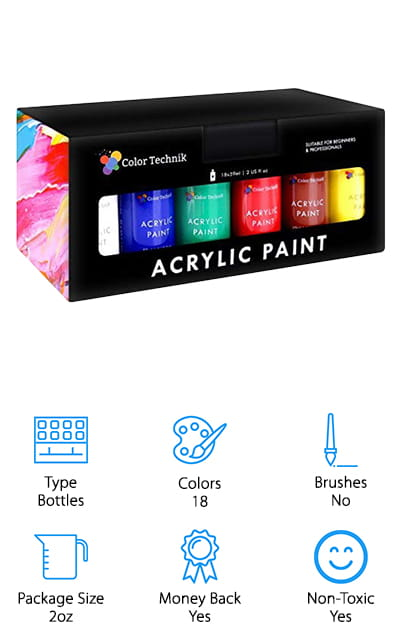 Color Technik Acrylic Paint Set