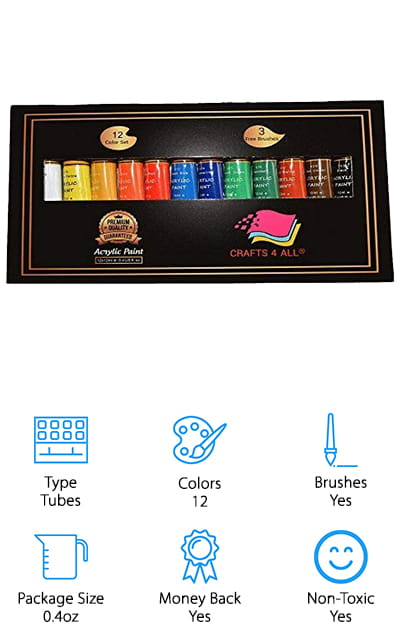 Crafts 4 ALL Paint Set