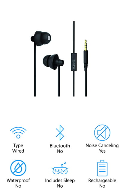 MAXROCK Sleep Earbuds