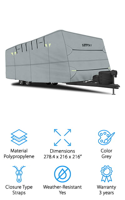 IiSPORT Travel Trailer Cover