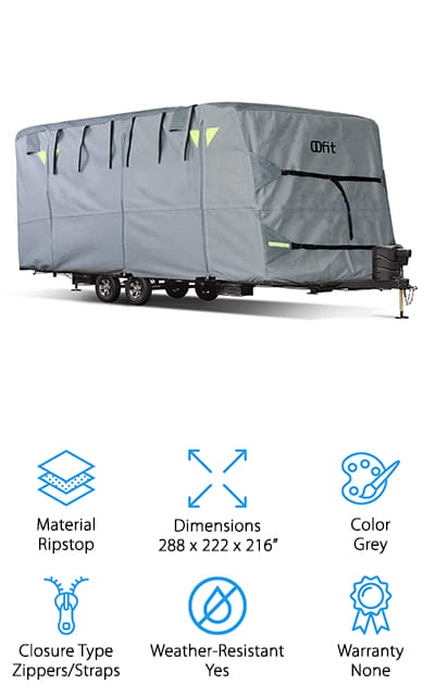 OOFIT Travel Trailer RV Cover