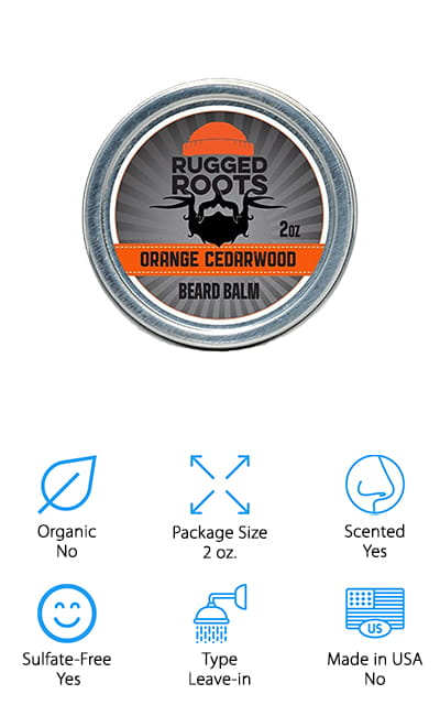 Rugged Roots Beard Softener