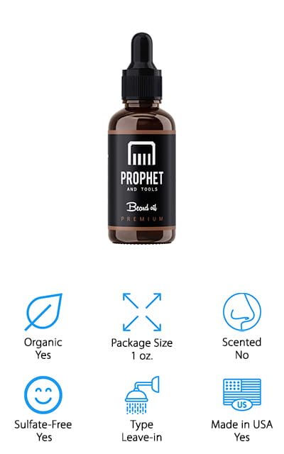 Prophet and Tools Beard Softener