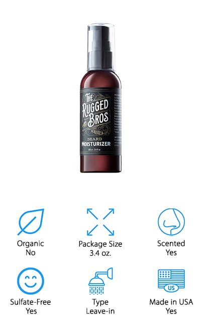 The Rugged Bros Beard Softener