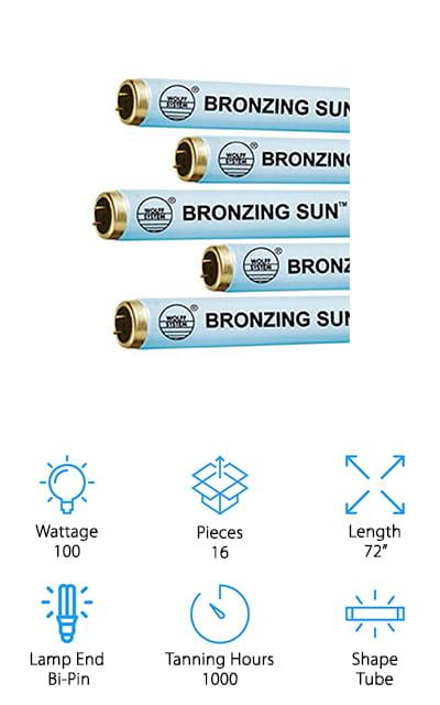 Bronzing Sun Plus Tanning Lamp
