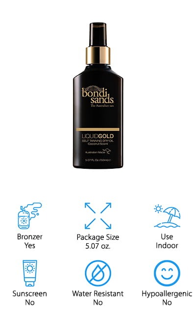 Bondi Sands Liquid Gold Dry Oil