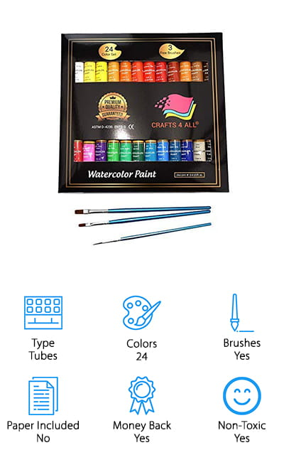 Crafts 4 All Watercolor Paint Set