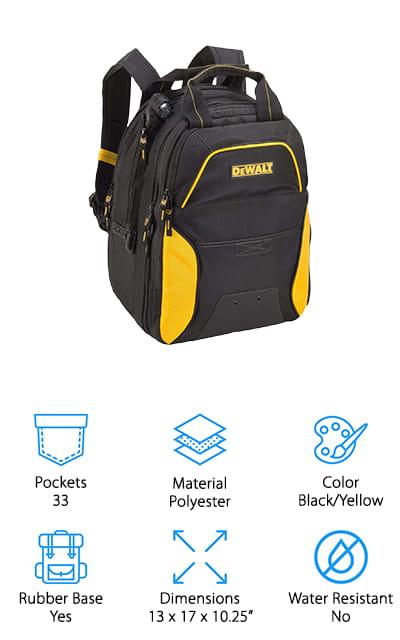 DEWALT DGCL33 Tool Backpack