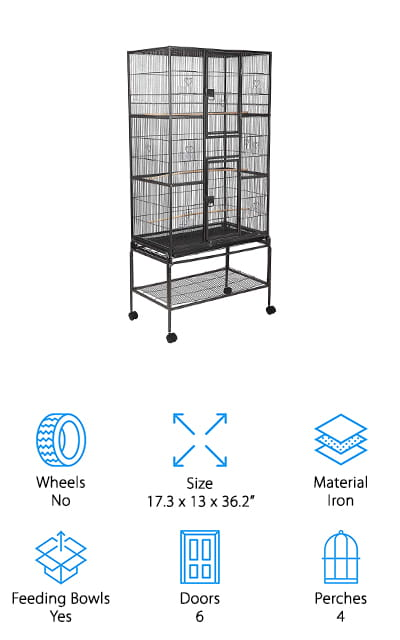 SUNCOO Large Bird Cage