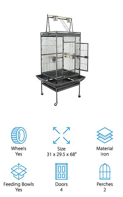 Nova Large Bird Cage