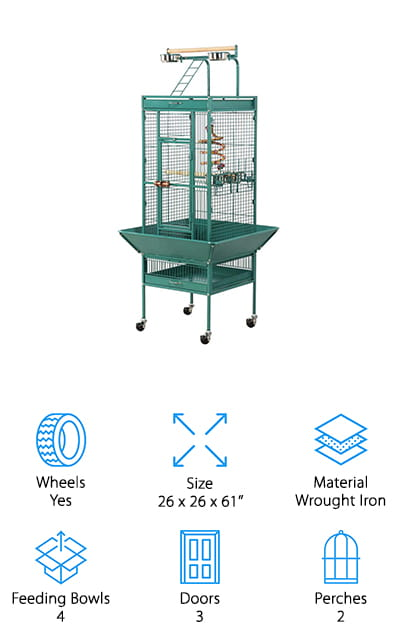 Yaheetech Select Bird Cage
