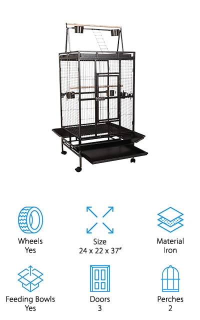 Giantex Cockatoo Bird Cage