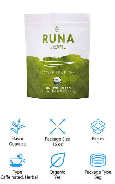 Runa Guayusa Loose Leaf Tea