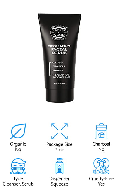 Lather & Wood's Face Scrub
