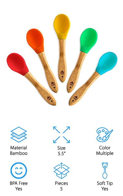 Bambüsi Baby Feeding Spoons