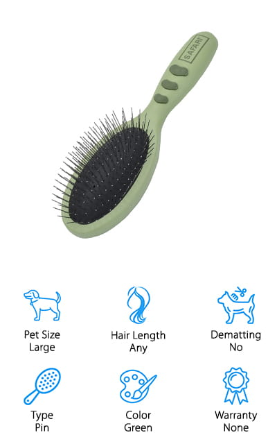 Safari Pet Pin Brush