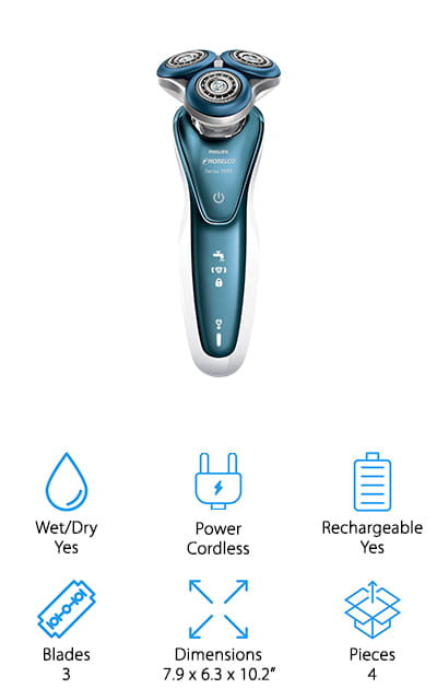 Philips Norelco Electric Shaver 7500