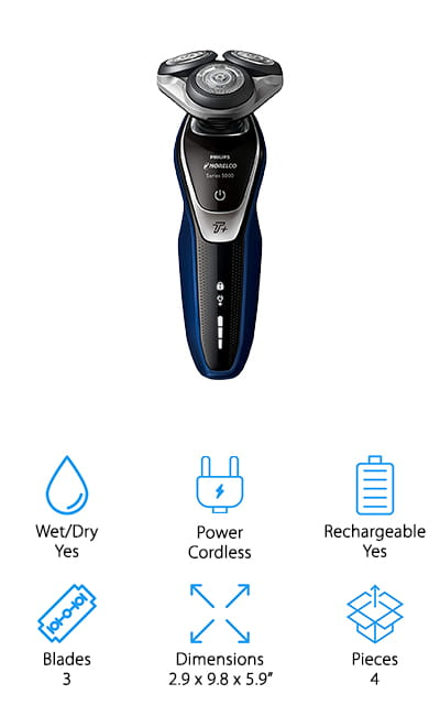 Philips Norelco Electric Shaver 5570