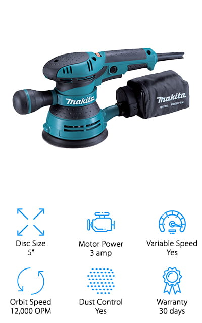 Makita BO5041K Orbit Sander