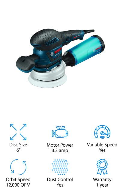 Bosch ROS65VC-6 Orbit Sander