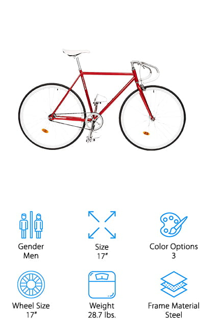 Critical Cycles Fixed-Gear Bike