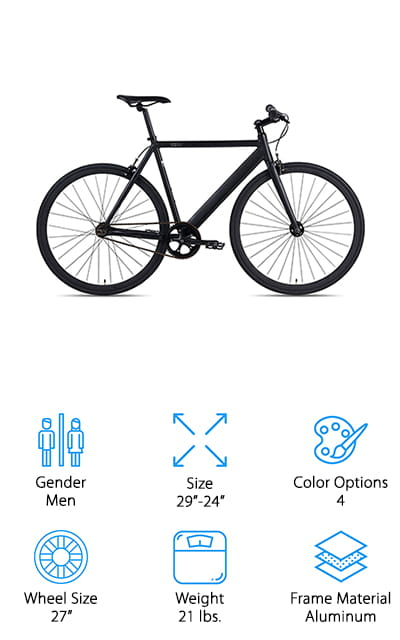6KU Fixie Urban Track Bike