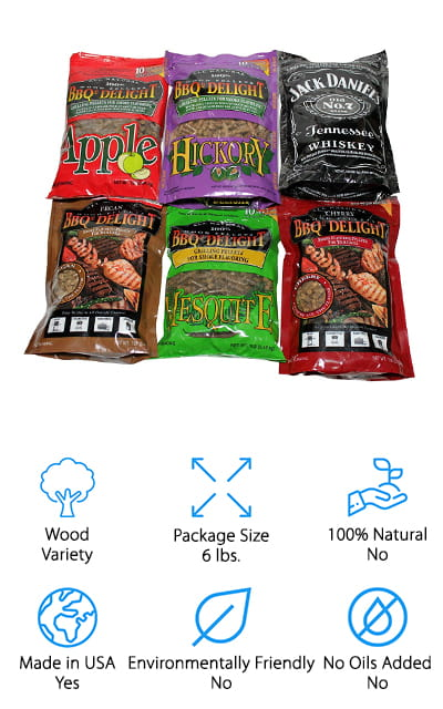 BBQrs Delight Wood Smoking Pellets