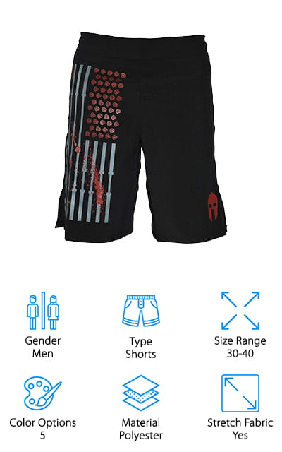 WarriorXGear WOD Performance Shorts