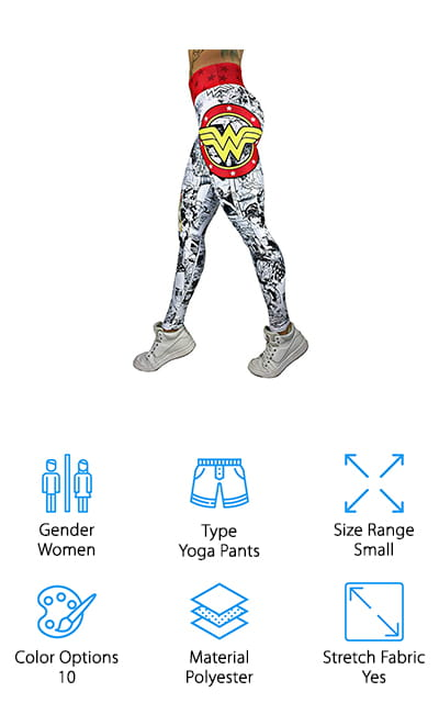 Exit 75 Superhero Leggings