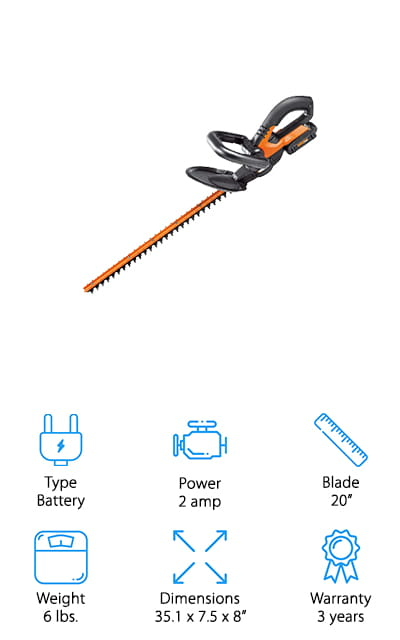 Worx PowerShare Electric Trimmer