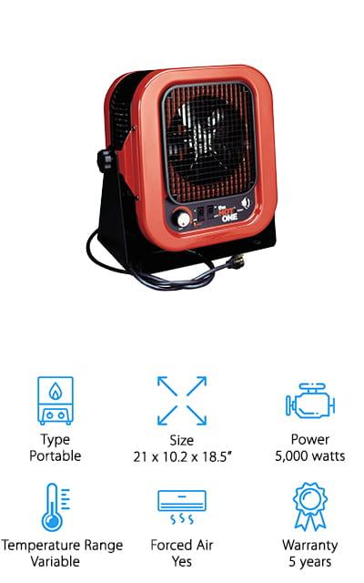 Cadet RCP502S Garage Heater