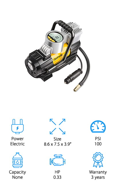 AstroAl Portable Air Compressor
