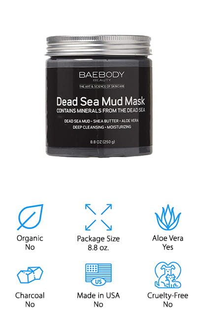 Baebody Dead Sea Mud Mask