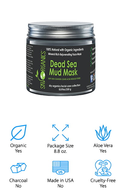 Sky Organics Dead Sea Mud Mask