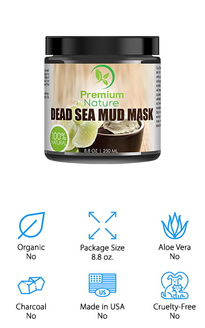 Premium Nature Dead Sea Mud Mask