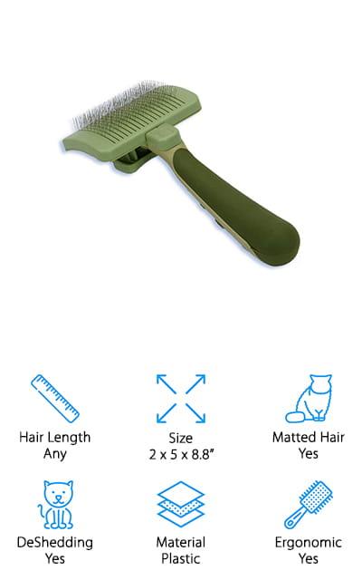 Safari Cat Self-Cleaning Brush