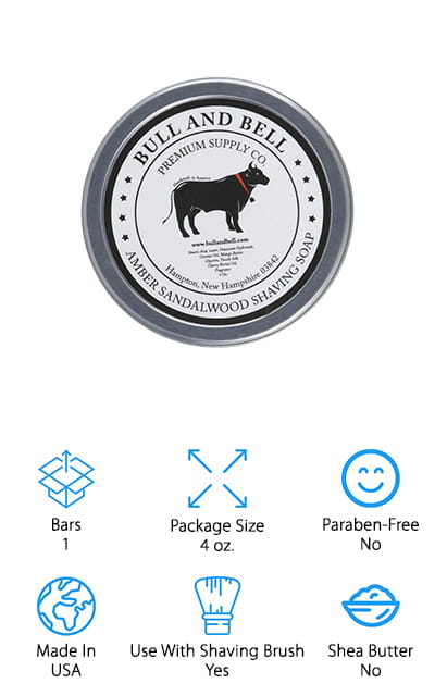 Bull and Bell Shaving Soap