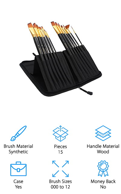 Craftamo Paint Brushes