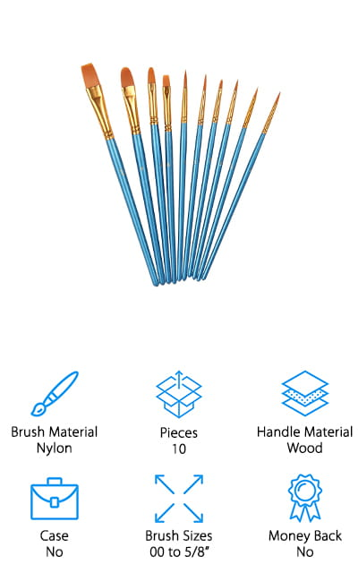 Heartybay Brush Set